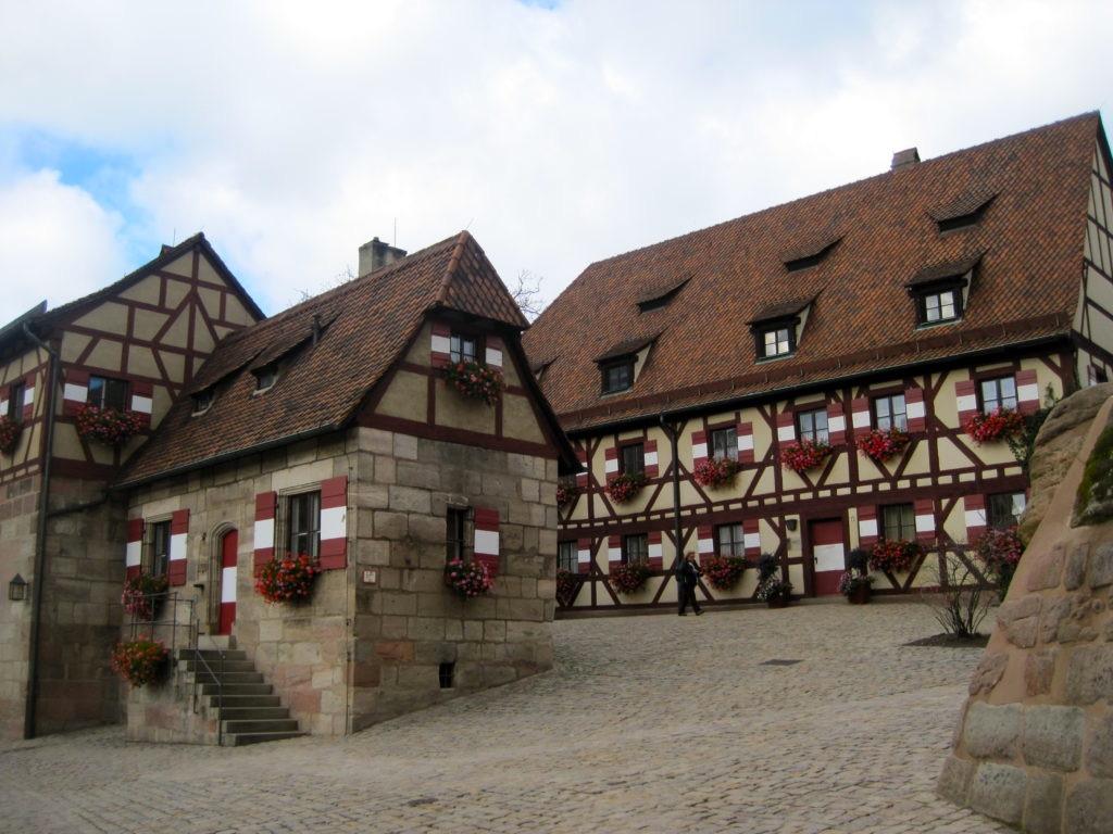 Il fiabesco Kaiserburg di Norimberga, Baviera