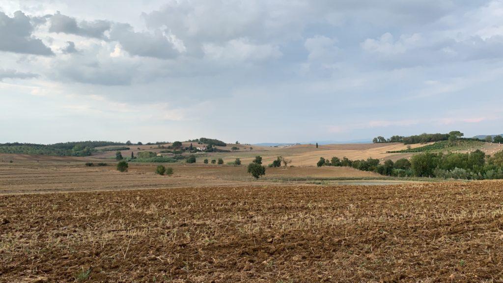 Campi nella campagna Toscana