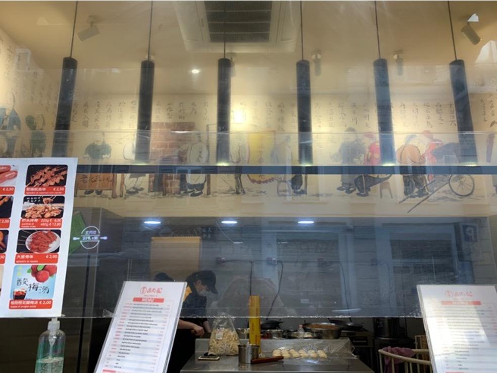 Vetrina street food cinese