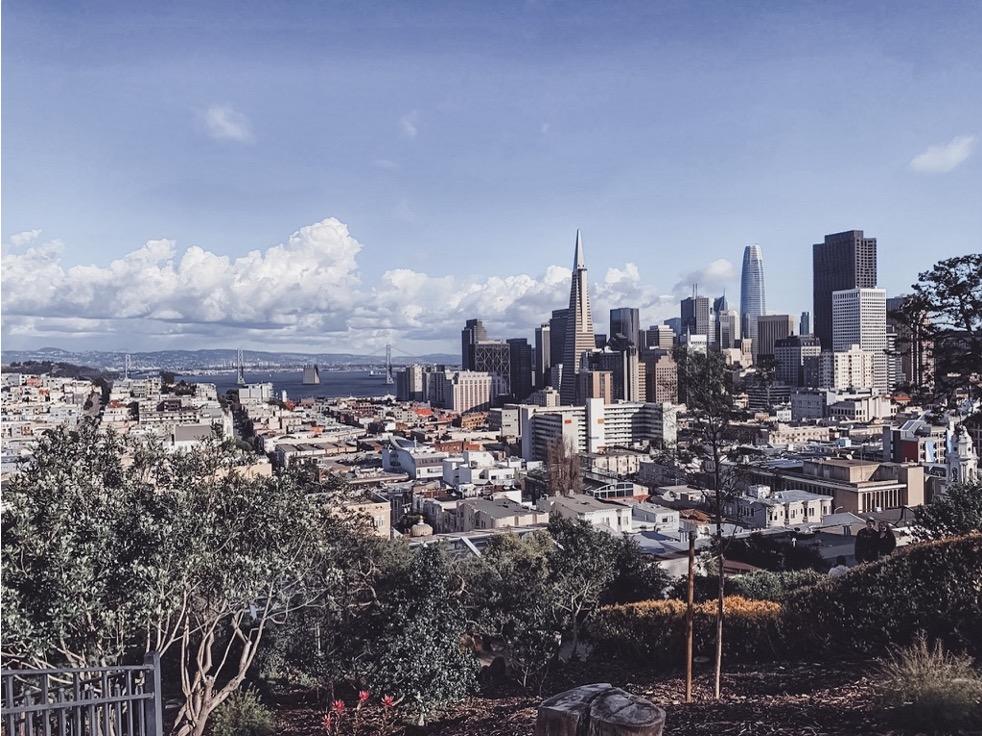 Veduta della città di San Francisco