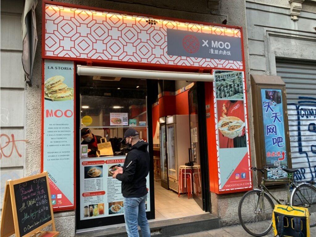 Negozio di cibo cinese